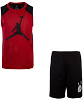 aeef9375bb9 Jordan Toddler Boys 2-Pc. Jumpman-Print Tank Top & Shorts Set