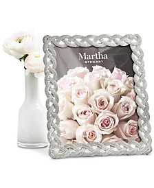 "Martha Stewart Collection Large 8"" x 10"" Braided Frame, Created For Macy's"