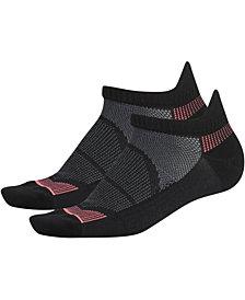 adidas 2-Pk. Superlite Prime Mesh III Tabbed No-Show Women's Socks