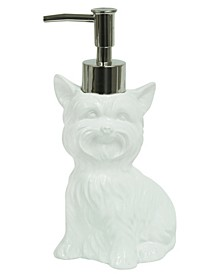 Dog Terrier Lotion Dispenser