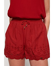 Annabelle Embroidered Shorts
