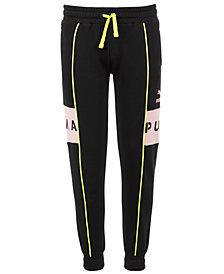 Puma Big Girls XTG Colorblocked Fleece Jogger Pants