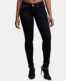 Stella Black Low-Rise Skinny Jeans