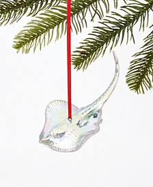 Seaside Iridescent Stingray Ornament, Created for Macy's