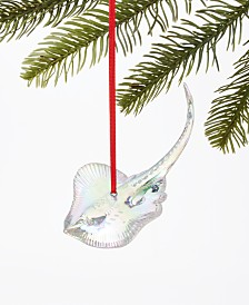 Holiday Lane Seaside Iridescent Stingray Ornament, Created for Macy's