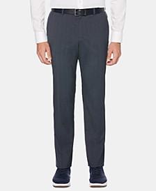 Men's Slim-Fit Striped Dress Pants