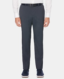 Perry Ellis Men's Slim-Fit Striped Dress Pants