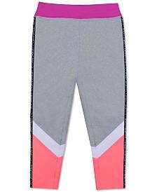 Calvin Klein Big Girls Colorblocked Capri Leggings