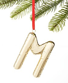 Holiday Lane Initials M Ornament, Created for Macy's