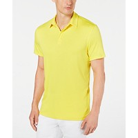 Deals on Alfani Mens Soft Touch Stretch Polo