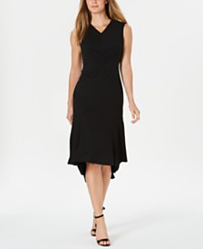 Calvin Klein High-Low Midi Dress