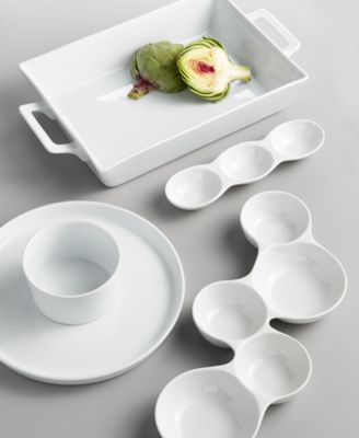 Whiteware Nested Serving Trays, Set of 3, Created for Macy's
