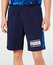 Men's Camo-Stripe Shorts