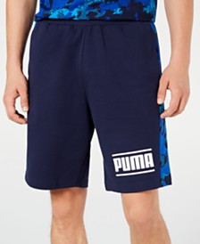 Puma Men's Camo-Stripe Shorts