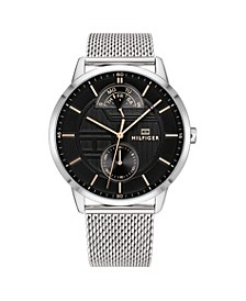 Mens Stainless Steel Mesh Bracelet Watch 44mm, Created for Macys