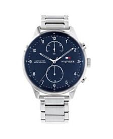 Tommy Hilfiger Mens Stainless Steel Bracelet Watch 44mm , Created for Macys