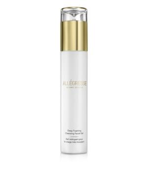 Image of Allegresse 24K Skincare Deep Foaming Cleansing Facial Gel 4.0 oz