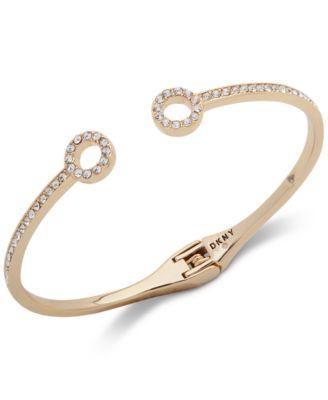 Pavé Circle Cuff Bracelet
