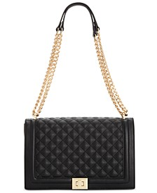 Ajae Quilted Flap Crossbody, Created for Macy's