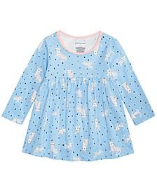 Toddler Girls Cheetah-Print Cotton Tunic, Created for Macy's