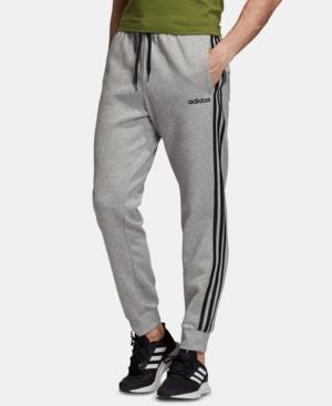adidas Men's Essentials 3-Stripes Fleece Joggers