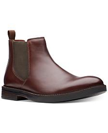 Clarks Men's Paulson Up Mahogany Leather Casual Boots