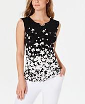 eff11edf4facb6 Calvin Klein Womens Tops - Macy's