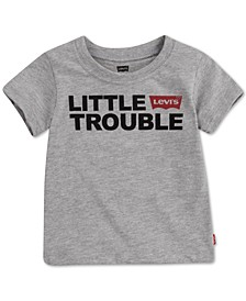 DADDY & ME COLLECTION Baby Boys Little Trouble Graphic T-Shirt