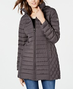 6a4b4d7d2 Gray Womens Coats - Macy's