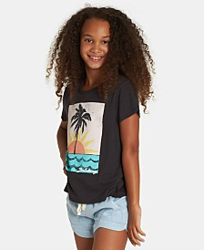 Billabong Big Girls Sun-Print T-Shirt