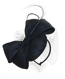 Josette Taffeta Bow Fascinator
