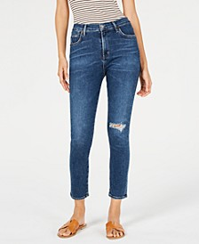 Rocket Ripped Cropped Skinny Jeans