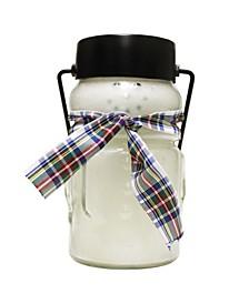 Sugar Cookie Baby Snowman Jar Candle