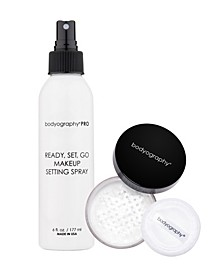 Setting Spray and Loose Powder Bundle