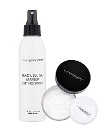 Bodyography Setting Spray and Loose Powder Bundle