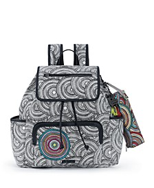 Fleetwood Flap Backpack with Pencil Case