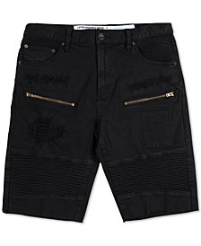 LRG Men's Rally Distressed Shorts