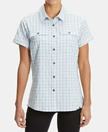 EMS® Women's Journey Woven Short-Sleeve Shirt