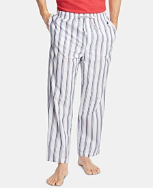 Nautica Men's Cotton Striped Pajama Pants