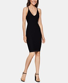 BCBGeneration Cutout-Back Bodycon Dress