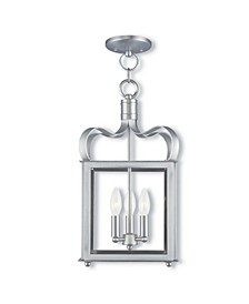 CLOSEOUT!   Garfield 3-Light Convertible Mini Pendant/Ceiling Mount