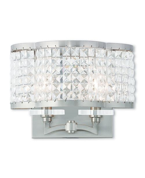 """Livex Grammercy 2-Light 9"""" Wall Sconce"""