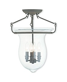 CLOSEOUT!   Canterbury 4-Light Ceiling Mount