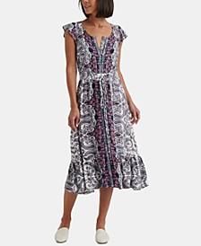 Felecia Smocked Midi Dress
