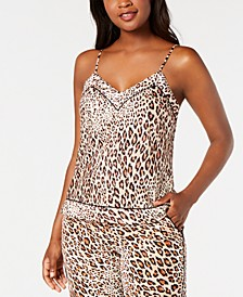 INC Printed Sleep Camisole Tank, Created for Macy's