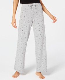 Jenni Star-Print Pajama Pants, Created for Macy's