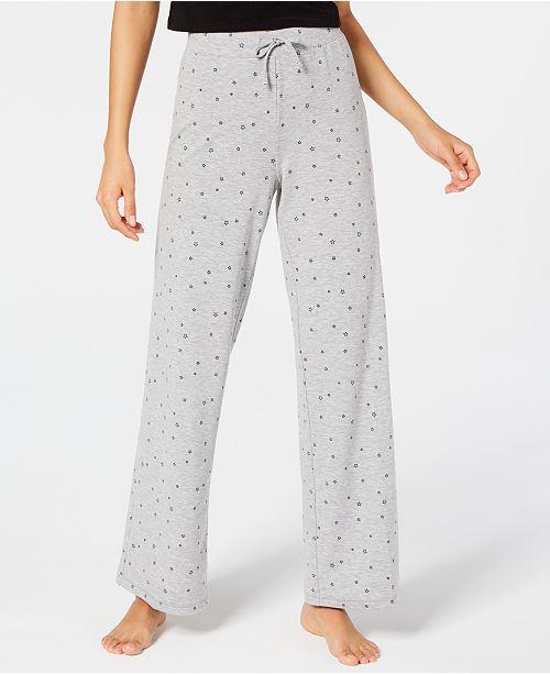 Jenni Star-Print Pajama Pants, Created for Macy's