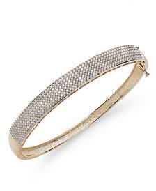 Diamond 5-Row Bangle Bracelet in (2 ct. t.w.)