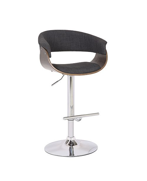 Groovy Weathered Oak Modern Swivel Adjustable Barstool With Armrests Pdpeps Interior Chair Design Pdpepsorg