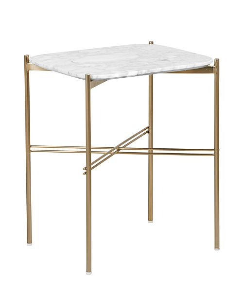 Elle Decor Ophelia Side Table, Quick Ship